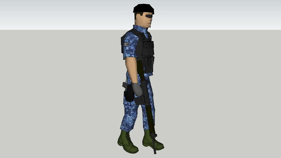 soldado de la sedena mexico