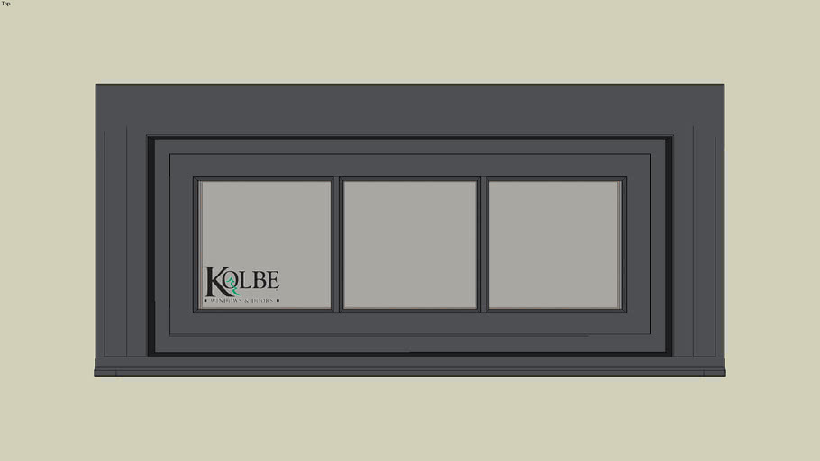 """Kolbe Ultra Inswing Rectangular Transom SPUT3014 (F.S. 3'-0 1/4"""" x 1'-3 1/2"""" R.O. 3'-0 3/4"""" x 1'-4"""")"""