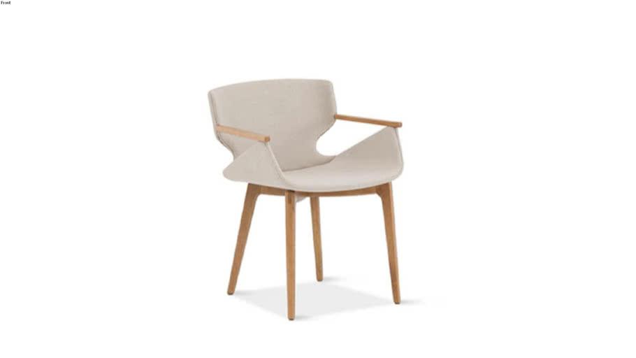 Cadeira Carmen com Braço - Daniela Ferro