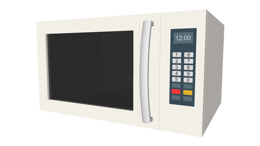 Countertop Microwave - Detailed
