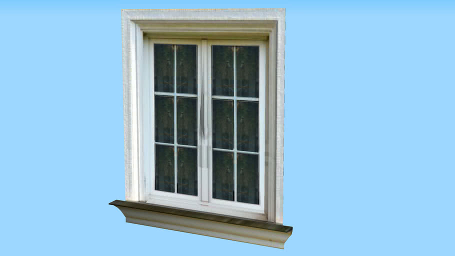 Low-Poly Window {124Kb}