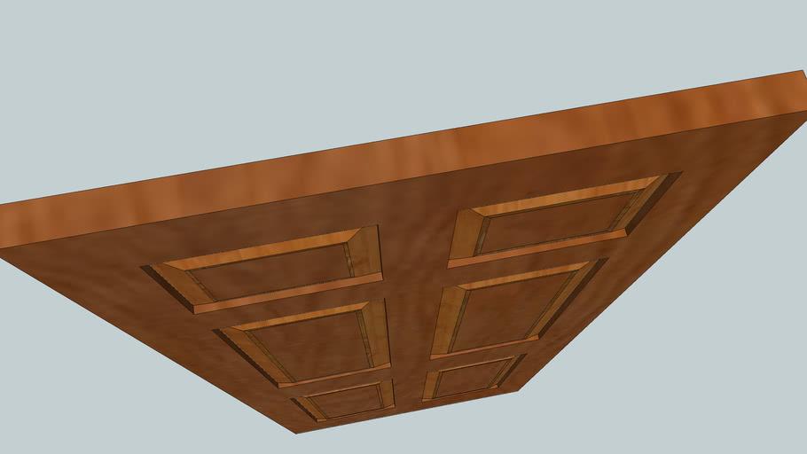 maghony raised 6 panel door
