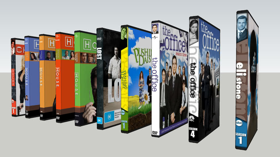 dvd collection serie tv