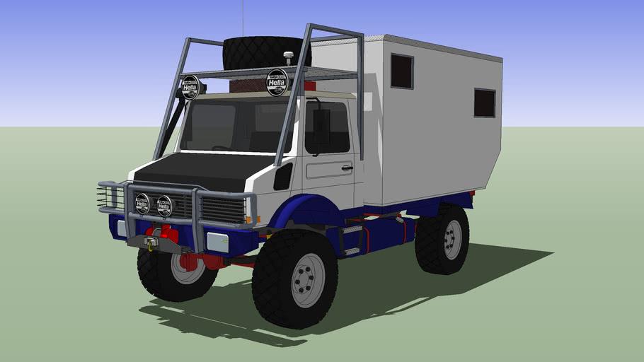Camper Truck, Unimog U-1000 4x4