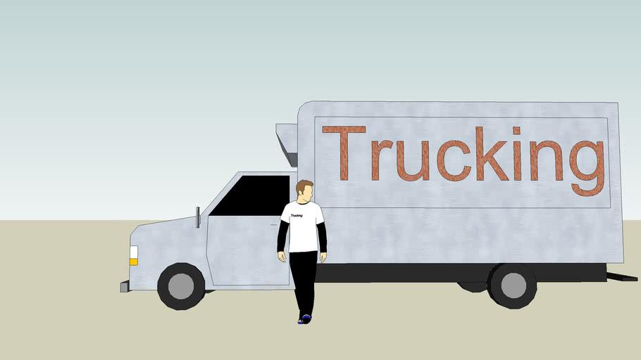 """Trucking"" Truck"