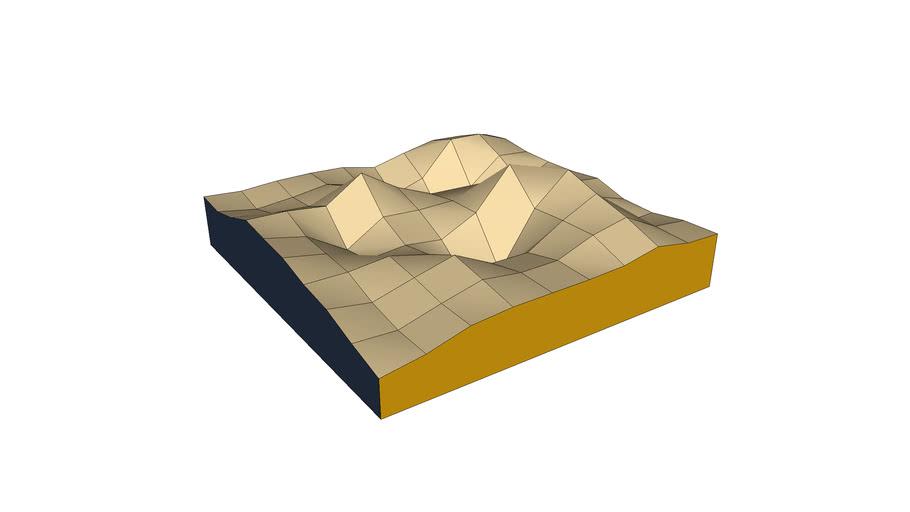 Solid Sand Floor