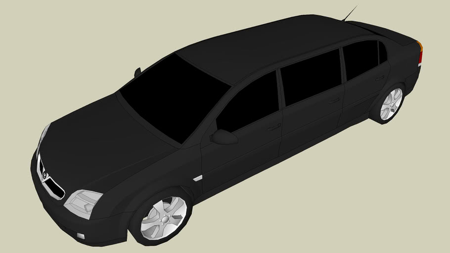 Vauxhall Vectra Funeral Car, 6 Doors