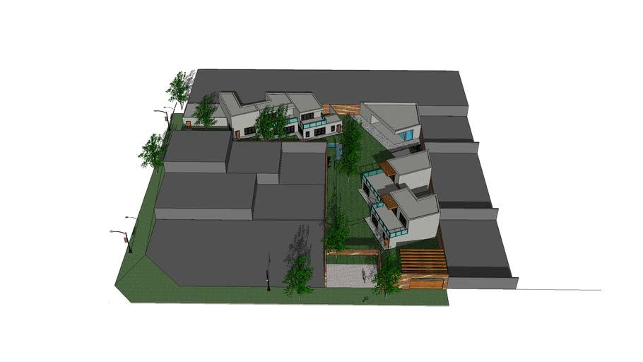 conjunto de viviendas arq II