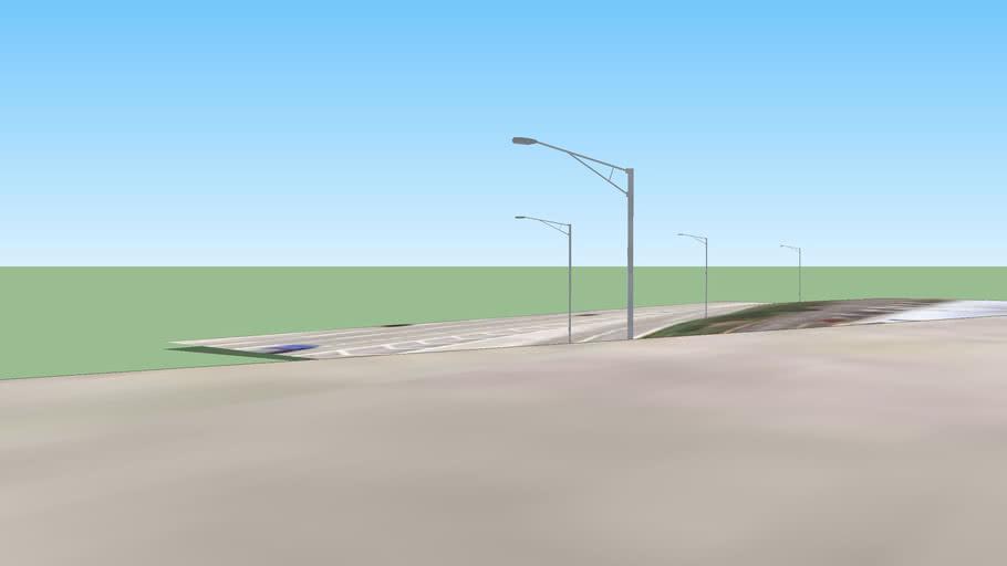 I-88 W 22nd Street Toll Plaza