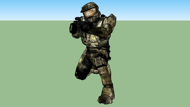Master Chief with Sniper