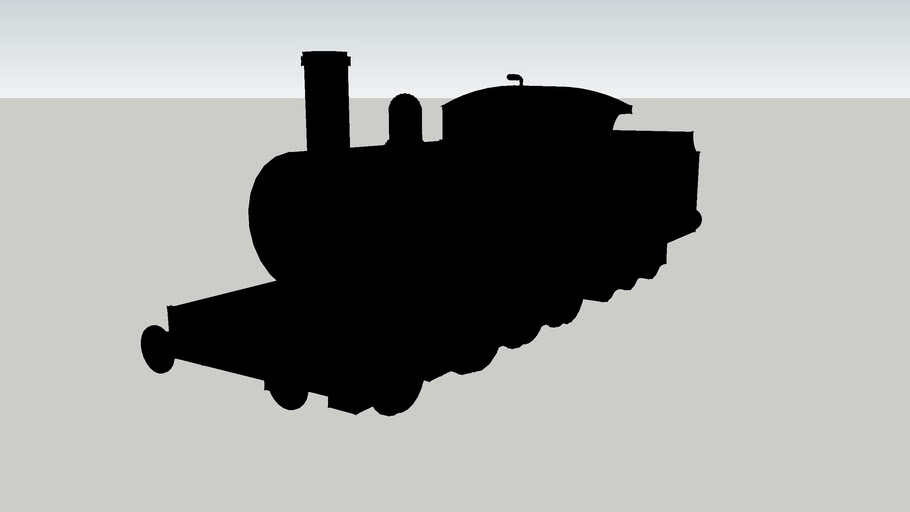 The shape of James the Red Engine