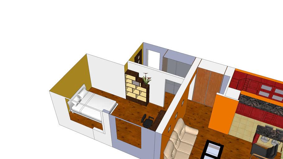 My flat v.2