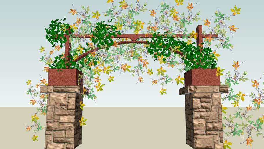 entrada a jardin
