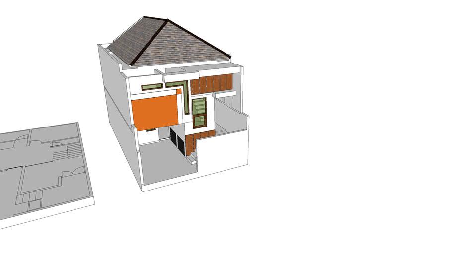 split level 1.5 lantai 6x10