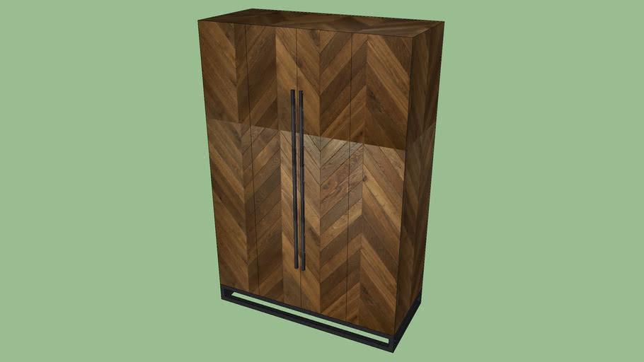 Crate & Barrel Estilo Cabinet