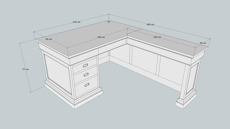 l shaped desk 3d warehouse l shaped desk 3d warehouse