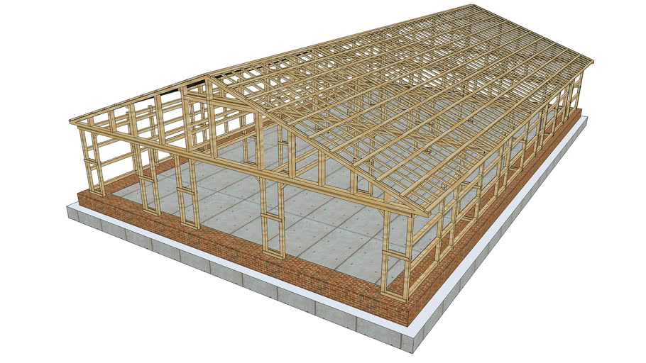 General Timber Frame Barn