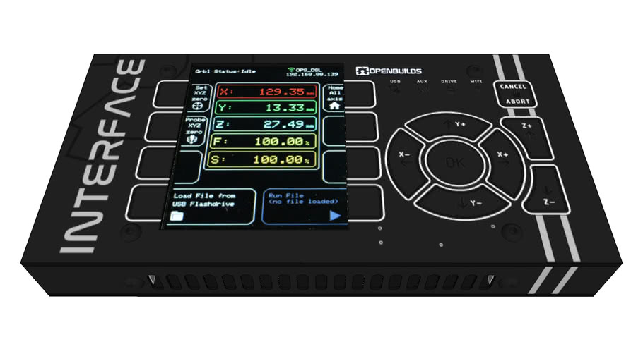 INTERFACE CNC Touch Controller