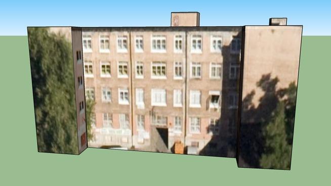 Zgrada u Warszawa, Poljska