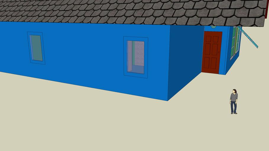 rumah sangat sederhana