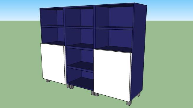 BESTÅ Mobile con ante IKEA | 3D Warehouse