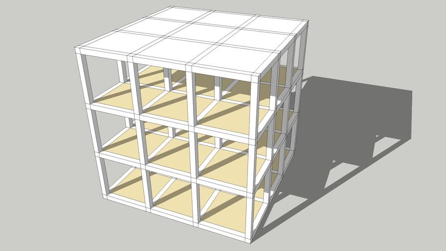 3x3x3 grid