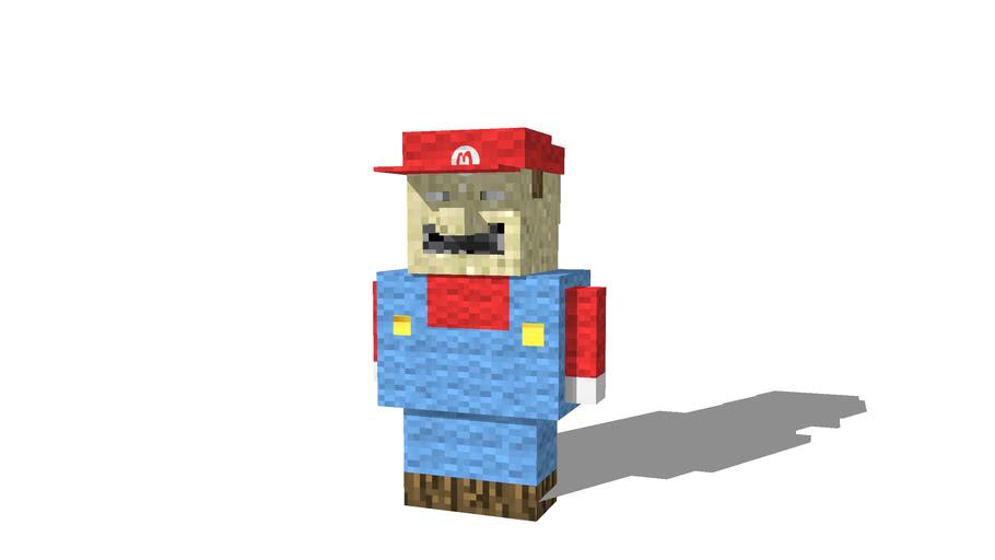 minecraft custom mario