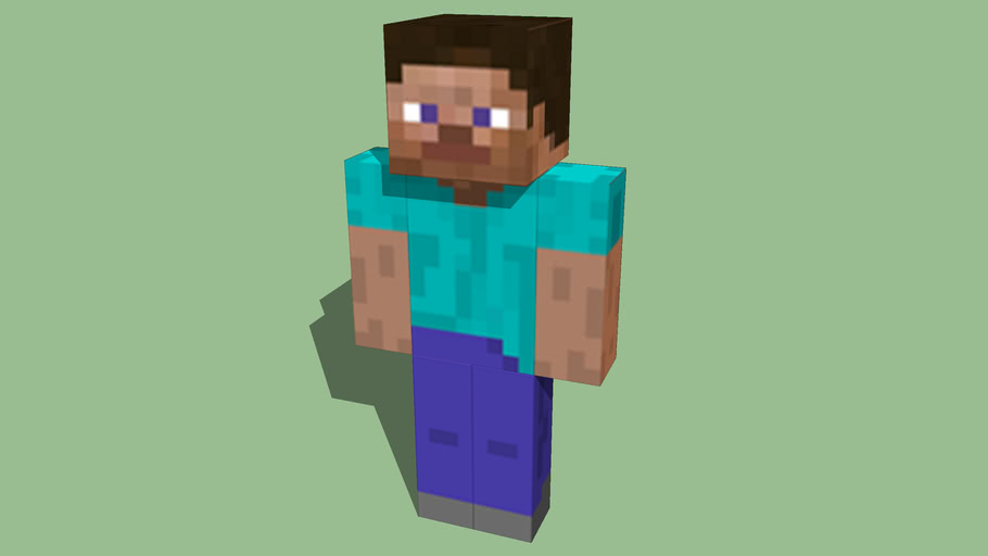 Steve The Minecraft Guy 3d Warehouse