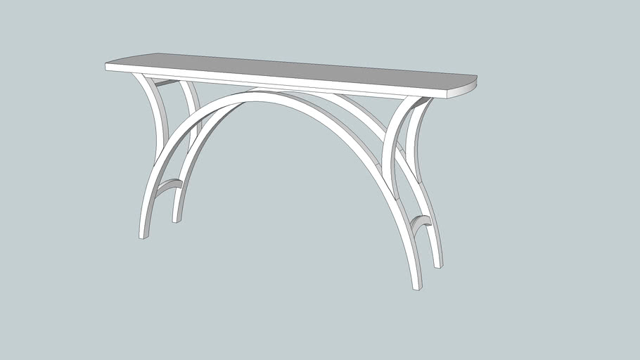 Arch Table from December 2011 Issue Popular Woodworking Magazine