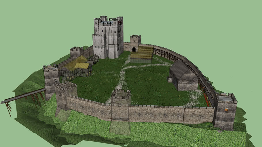 Rochester Castle c.1150