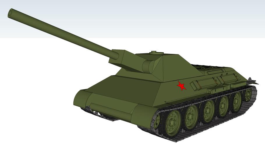 T-34/122ART Self-propelled artillery 122mm