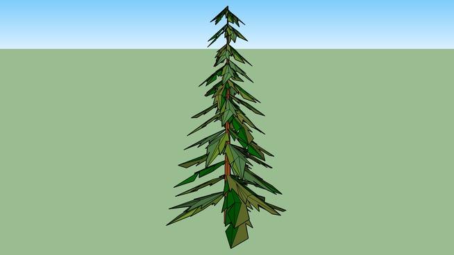 árvore 3d