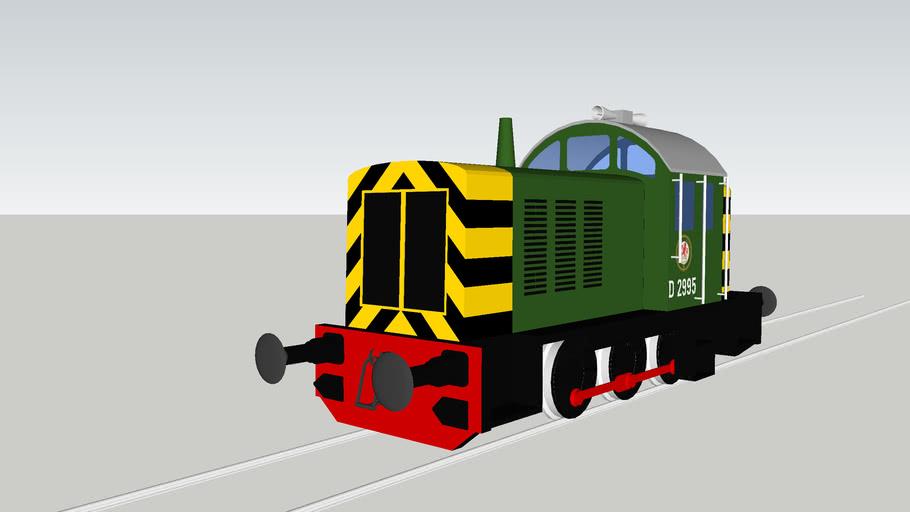 British Railways No. D2995 (1962)