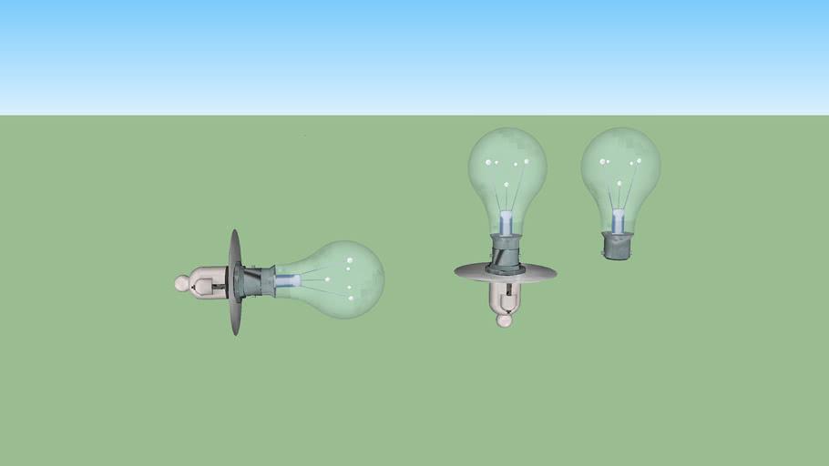 ampoule électrique à douille