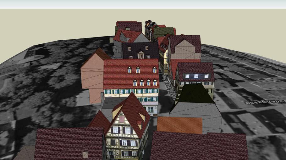 Virtual Tuebingen, Haaggasse