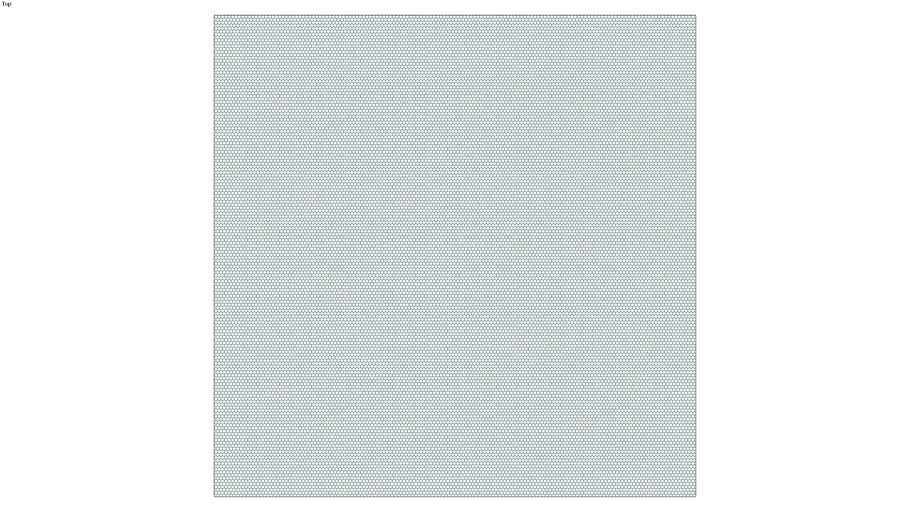 ROCKIT3D | Mesh Hexagon RAL6004
