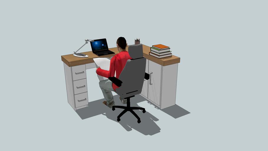 Marcenaria Artcloset - mesa de escritorio