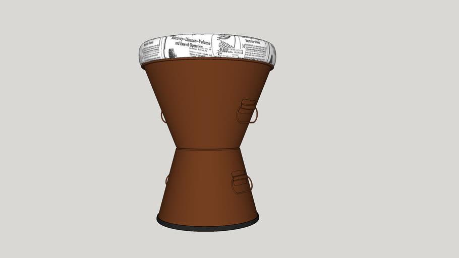 Bucket Puff_Bronze_FREELA 3D - Marcos Silveira