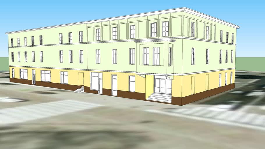 BUILDING ON 83 DWORCOWA STREET IN BYDGOSZCZ