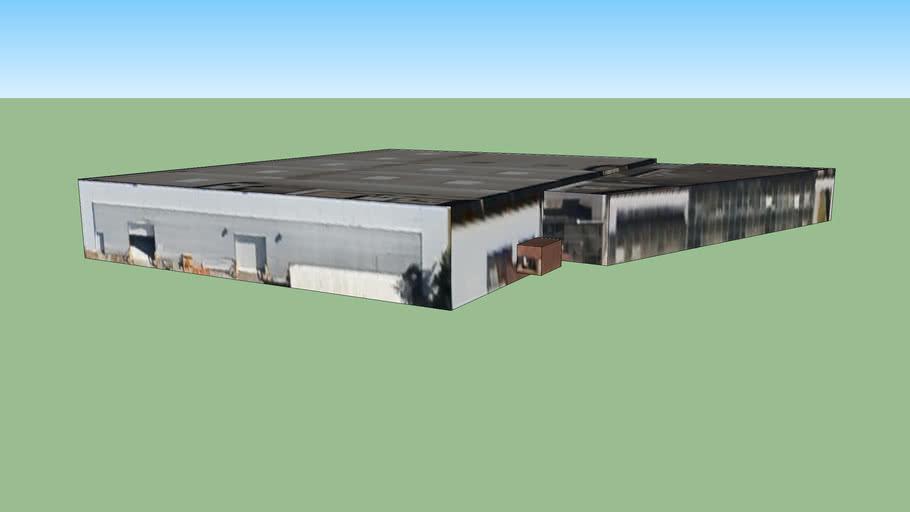 Bygning I 69500 Bron Frankrike 3d Warehouse