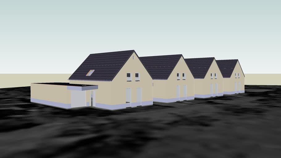 4 seniorenwoningen, Architectuur Design