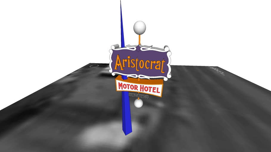 Mid-Century Modern singage - Aristrocrat Hotel on Colfax by TomL