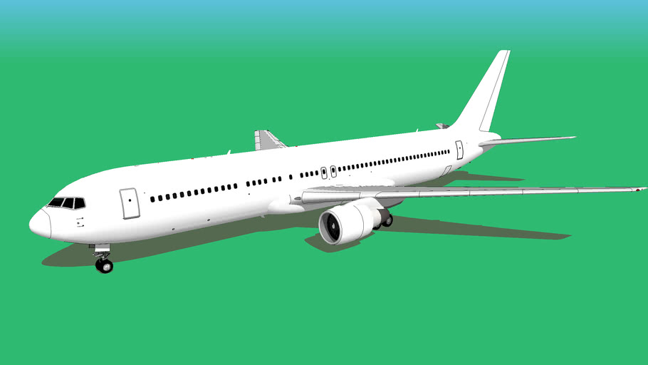 Template - Boeing 767-300