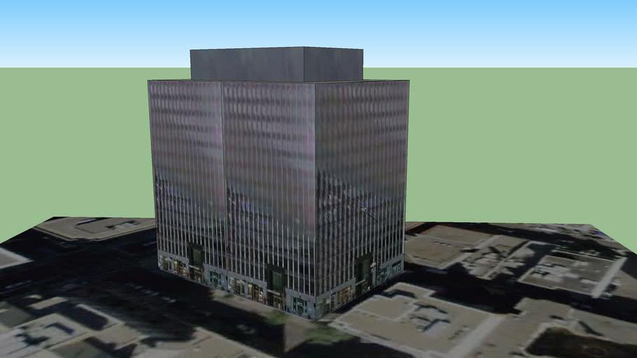 Building on De Maisonneuve Blvd.
