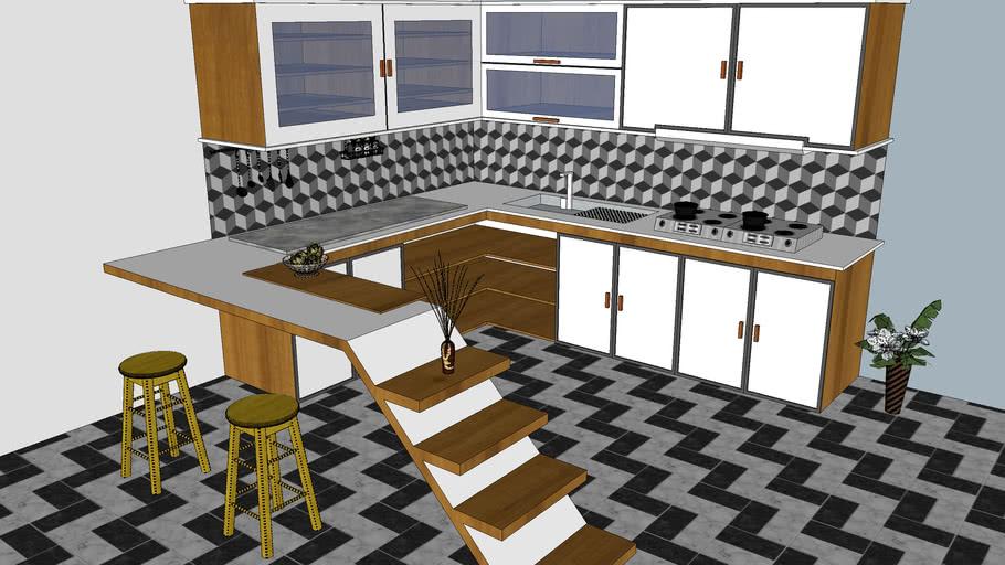 Design Interior Dapur Bersih