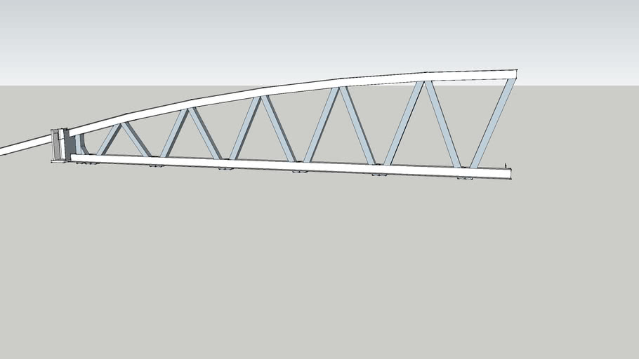 Roof Truss Curved 3d Warehouse