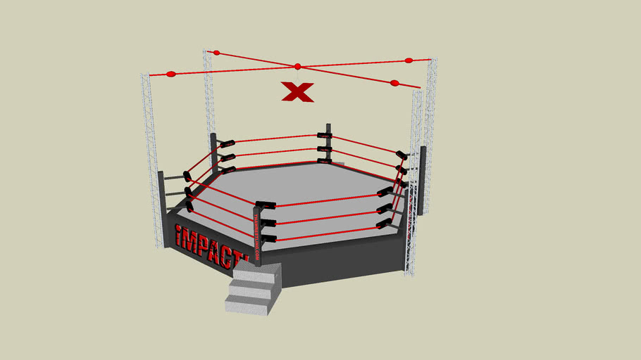 TNA Six Sided Ring-Ultimate X