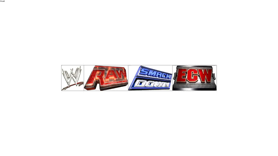 WWE RAW,SMACKDOWN AND ECW HD LOGOS