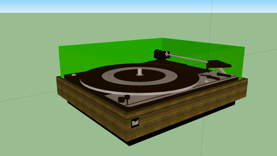 Turntable Dual Model 1214