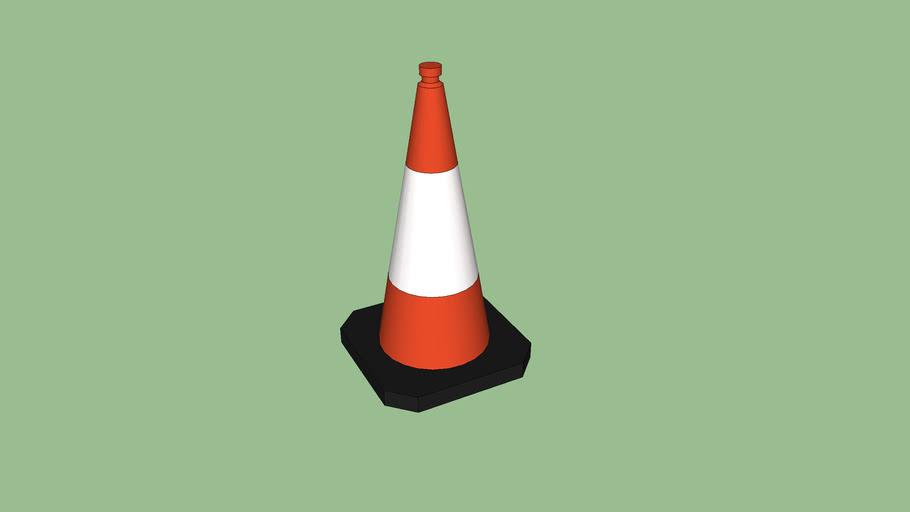 Traffic Cone - 1m Tall